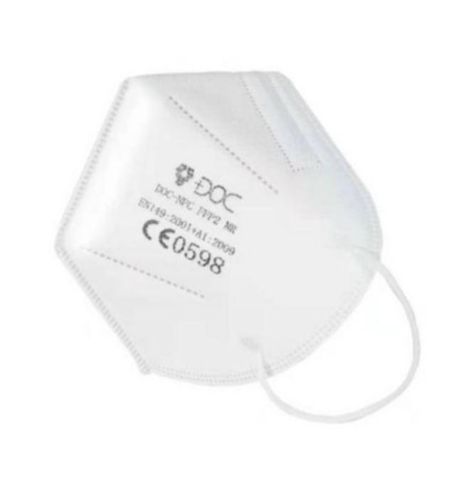 Atemschutzmaske FFP 2, Packung à 30 Stück, weiss