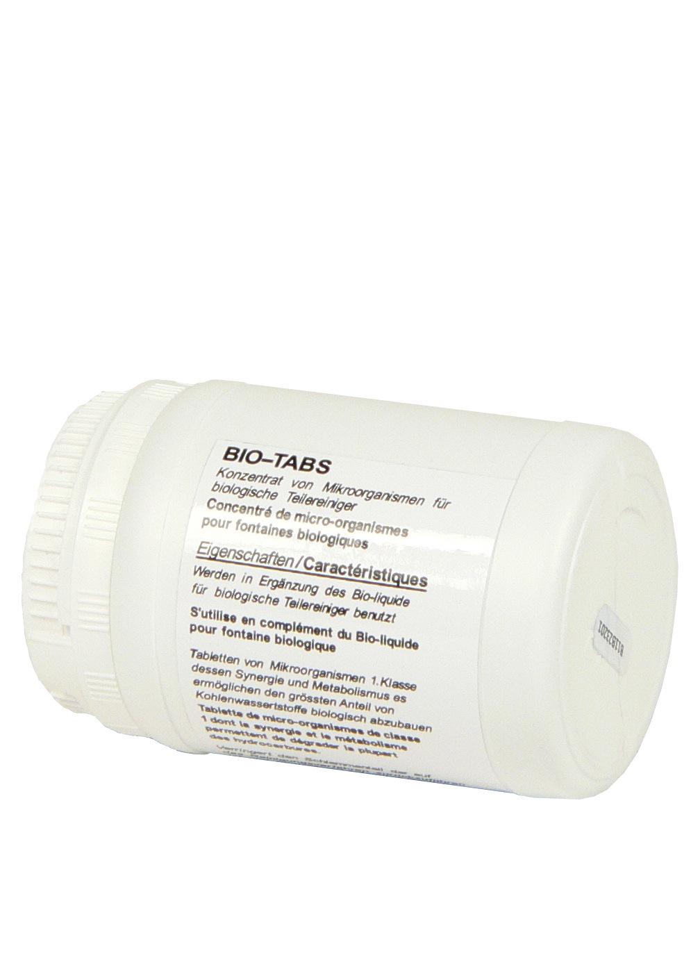 4 Stk. Bio Tabs S182 für Teilereiniger