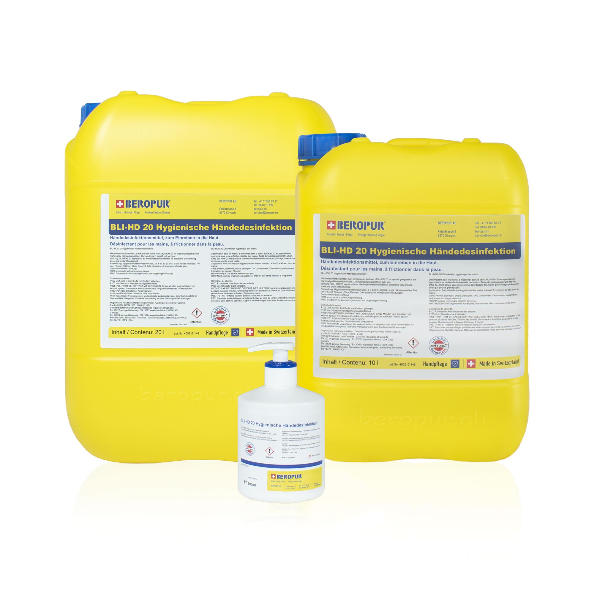 Hände-Desinfektionsmittel S400