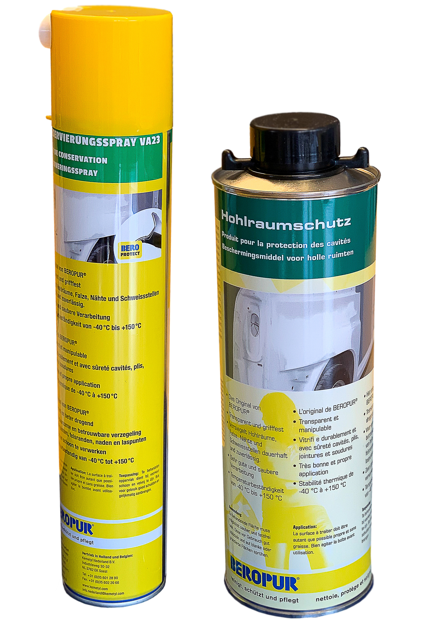 Konservierungsspray / Hohlraumschutz transp. VA23